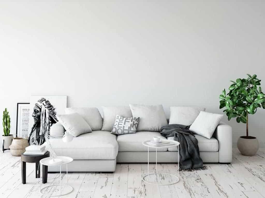 Πως να καθαρίσω τον καναπέ του σαλονιού