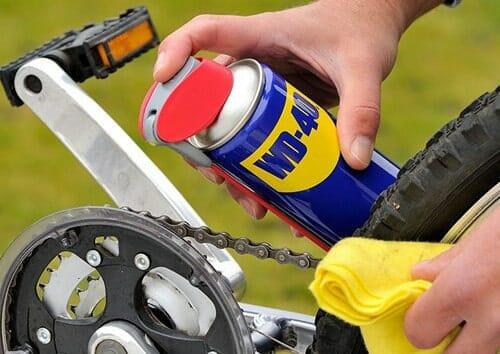 Σπρέι αλυσίδας για το ποδήλατο