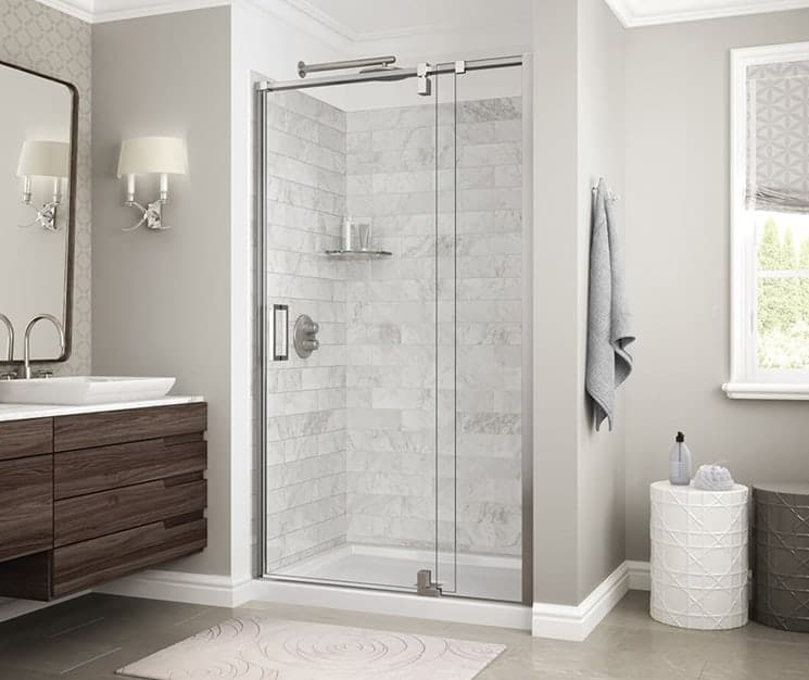 shower door glass how to clean wd40